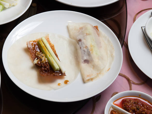 Peking duck at Fei Ya