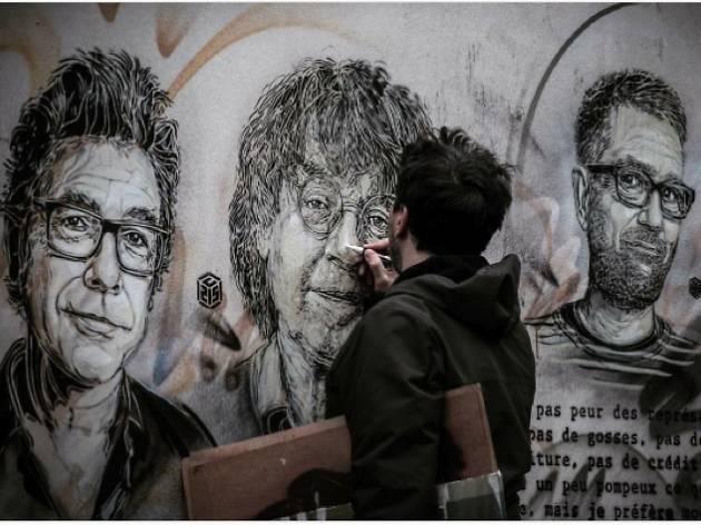 On a visité l'atelier de... C215, street artiste respecté