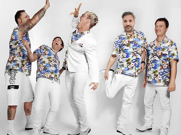 Me First and The Gimme Gimmes + Masked Introducer