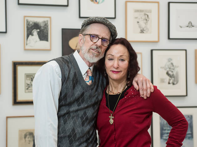 Robert Crumb and Aline Kominsky-Crumb talk about their partnership in art, life and love