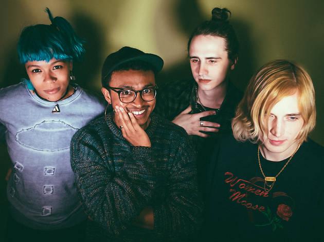 Queercore quartet Aye Nako finds a home in Brooklyn