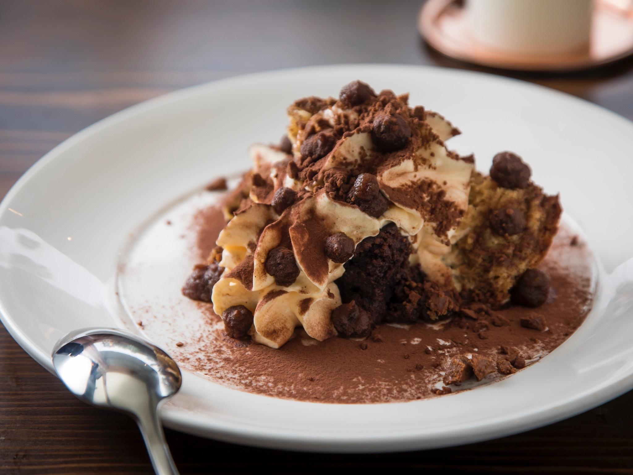 Dessert at Pino Vino e Cucina
