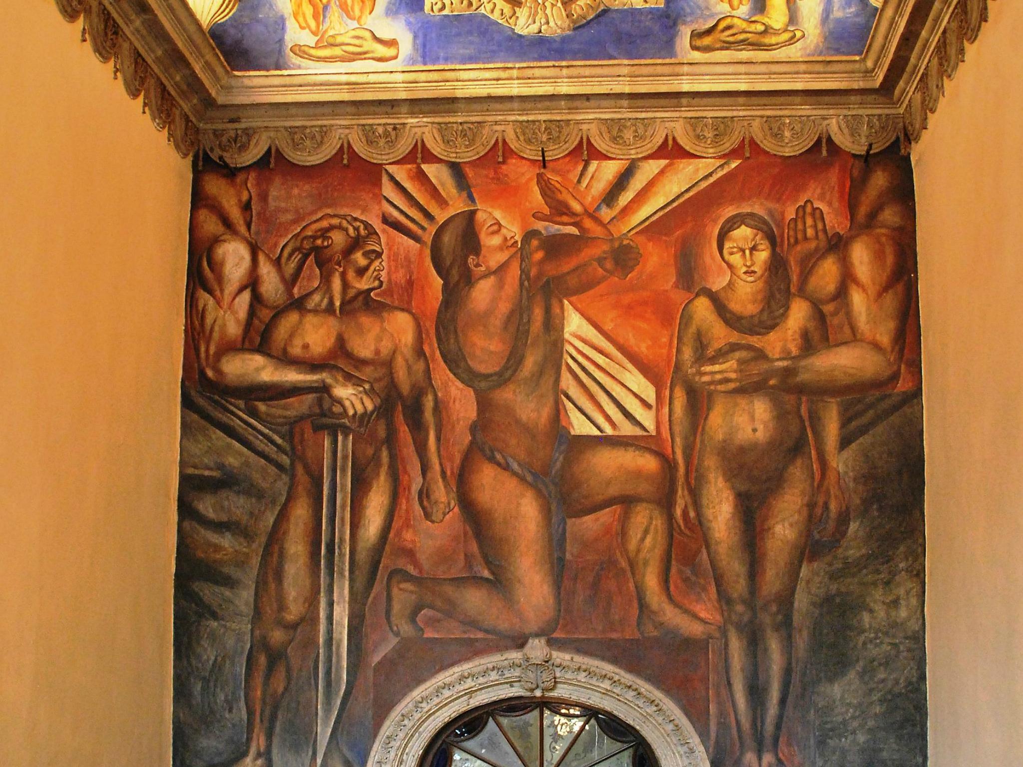 Casa de los Azulejos, mural, muralismo