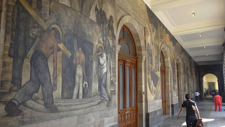 Secretaría de Educación Pública, mural, muralismo