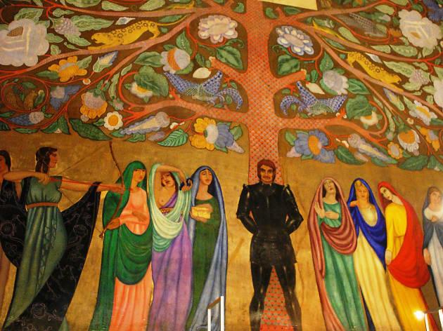 Museo de las Constituciones, mural, muralismo