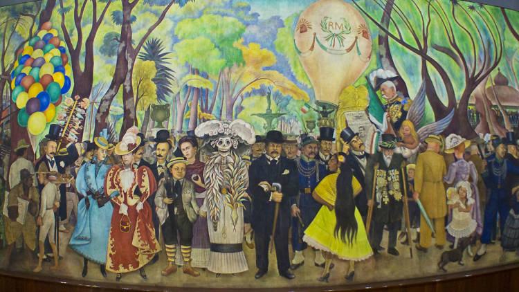 Museo Mural Diego Rivera , mural, muralismo