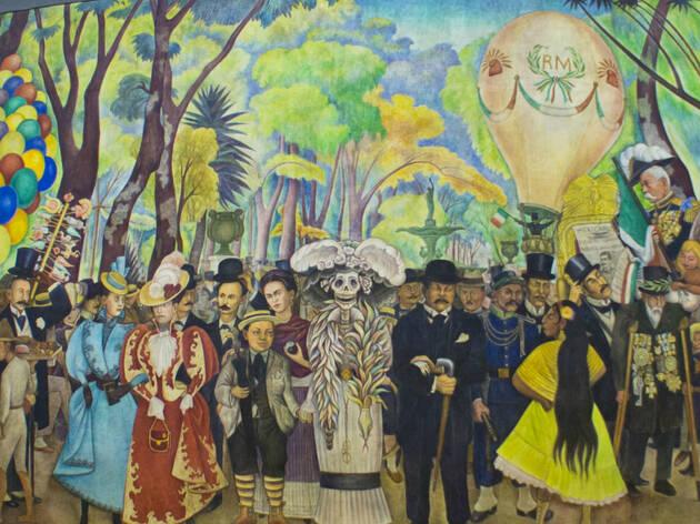 Museo Mural Diego Rivera, mural, muralismo