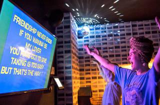 Karaoke at Goros