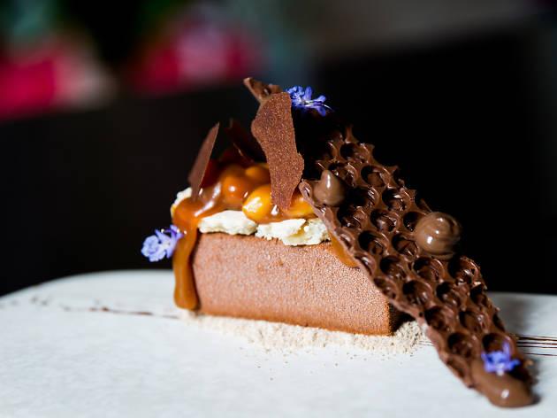 Om Nom dessert bar 'nut bomb'