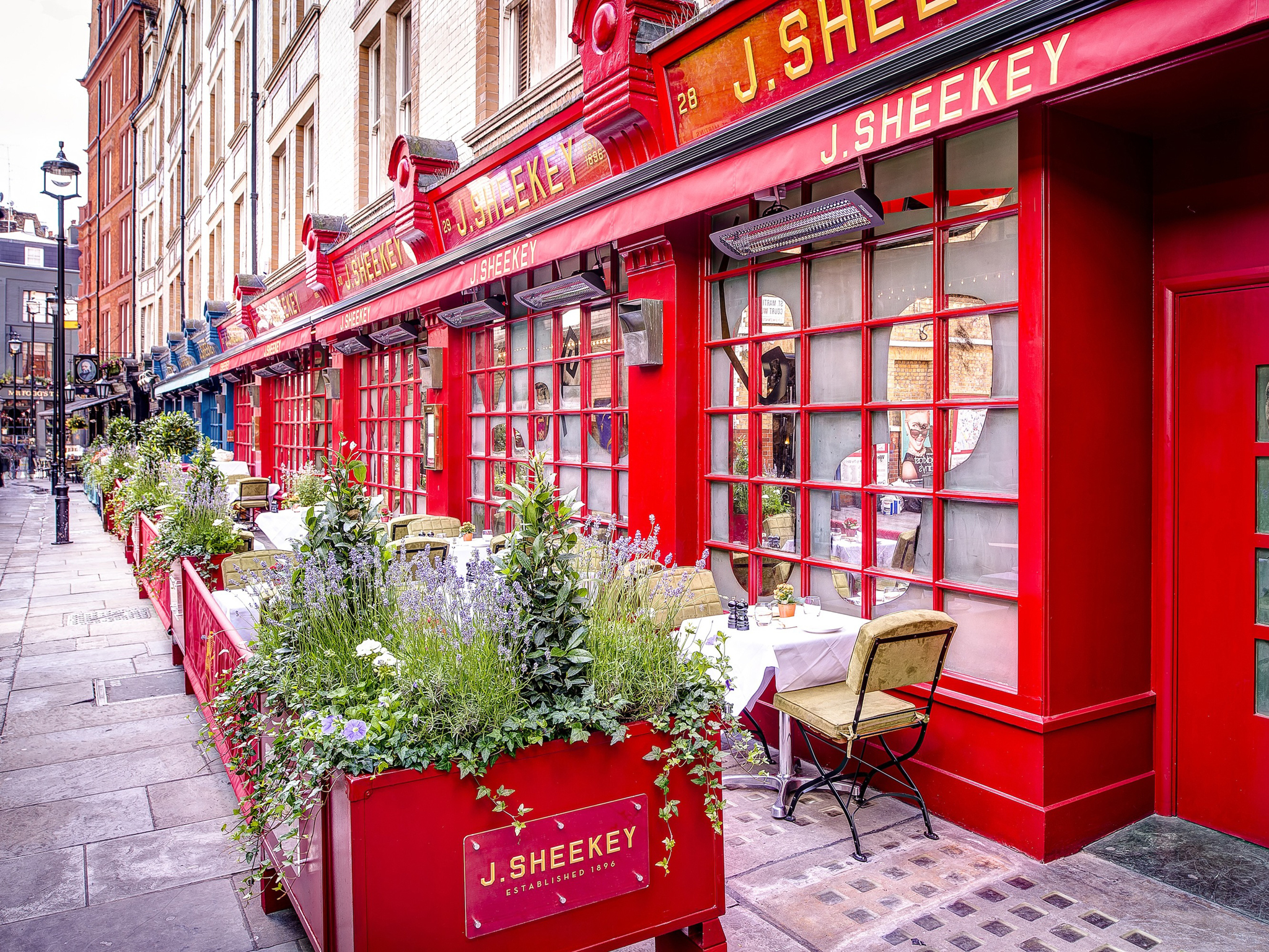Covent Garden restaurants, J Sheekey