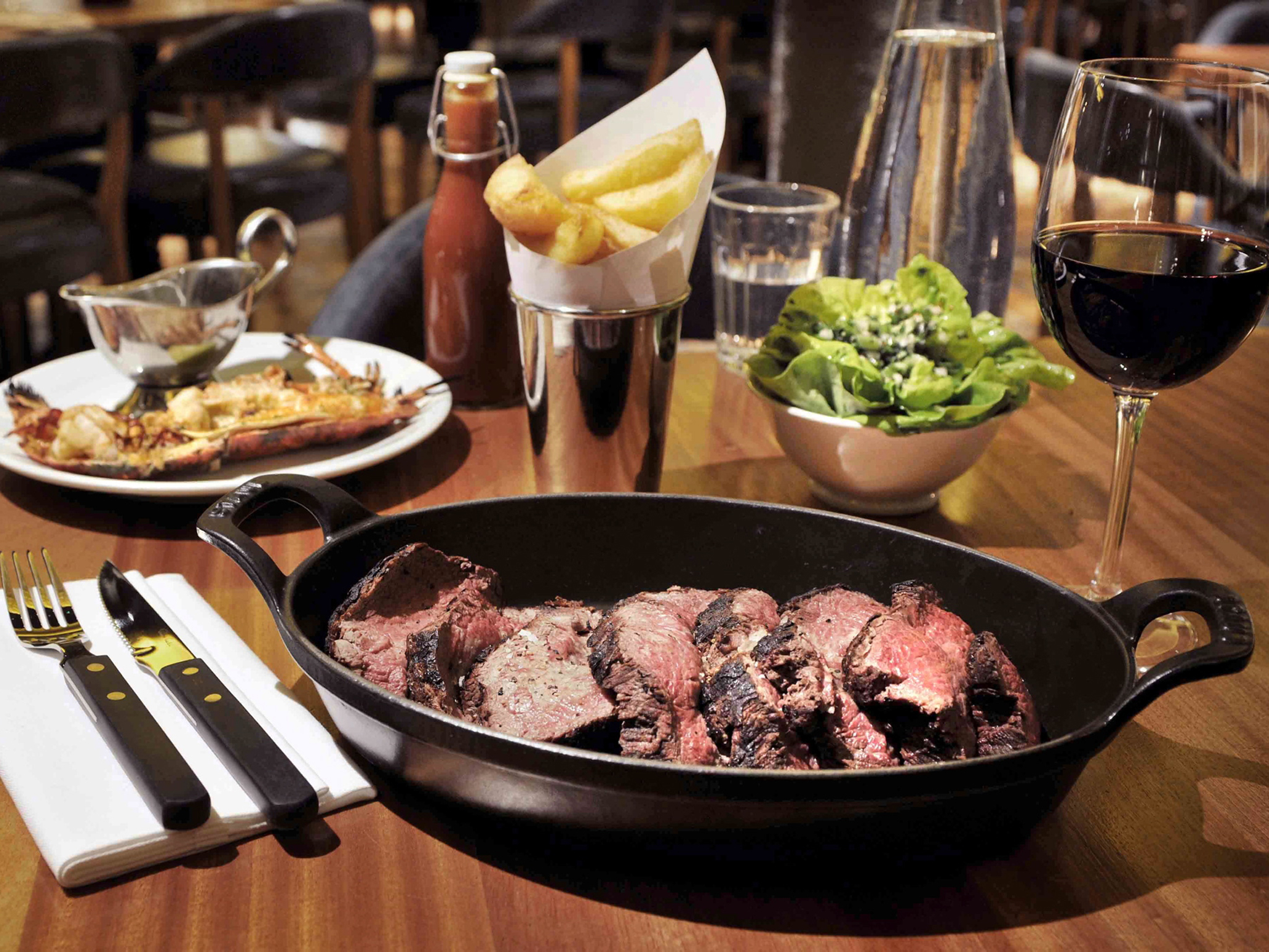 Covent Garden restaurants, Hawksmoor Seven Dials