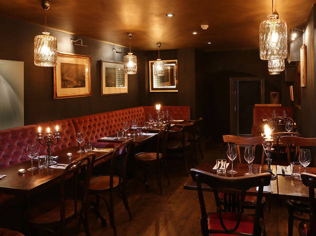 london's most romantic restaurants, kitty fisher's