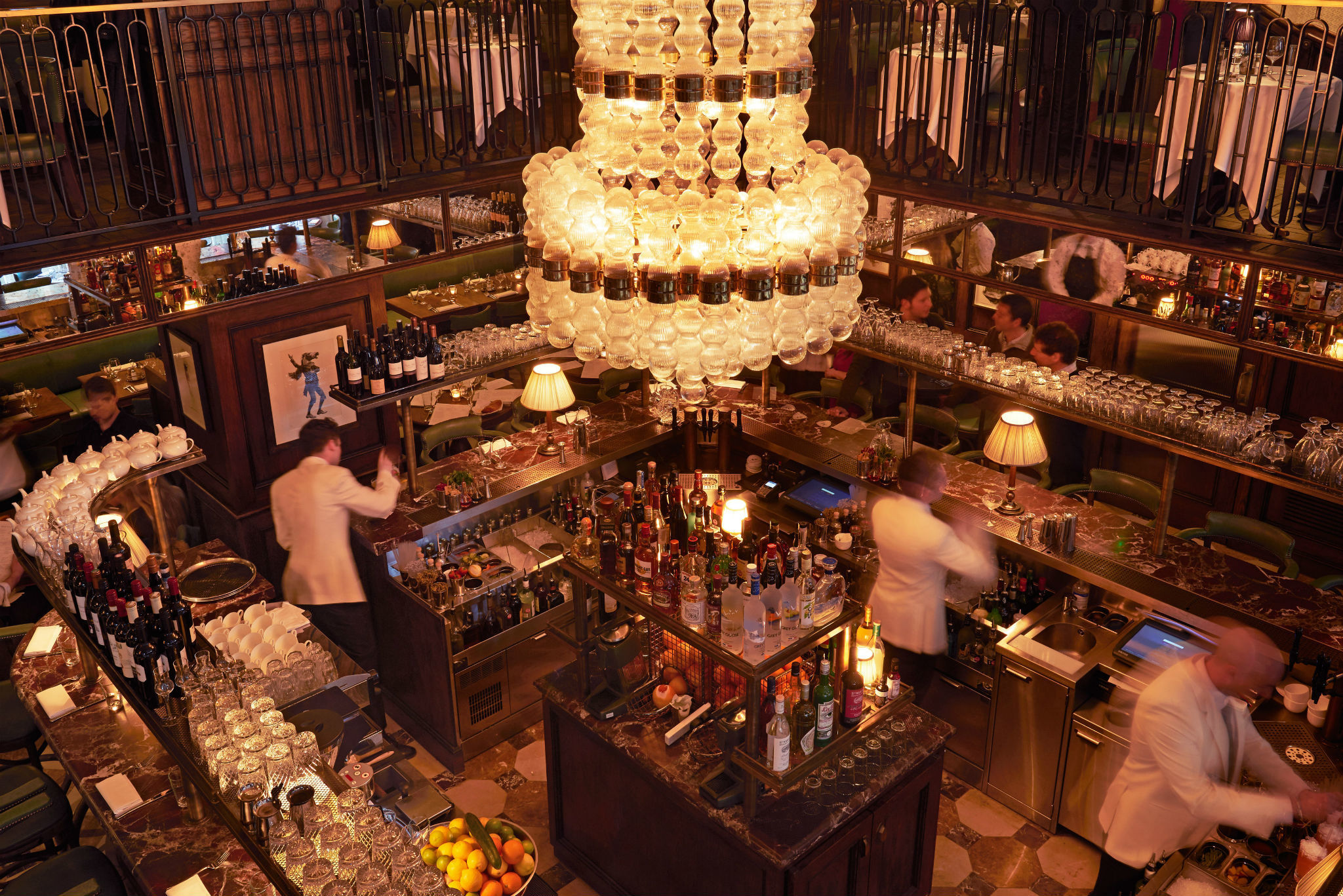 london's most romantic restaurants, cafe monico