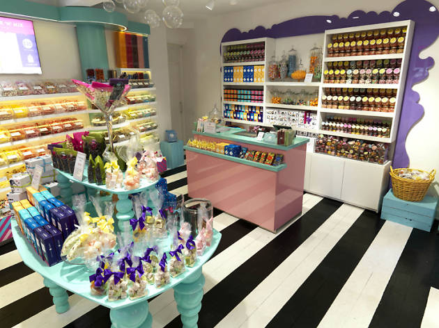 A boozy sweet shop has opened in Covent Garden