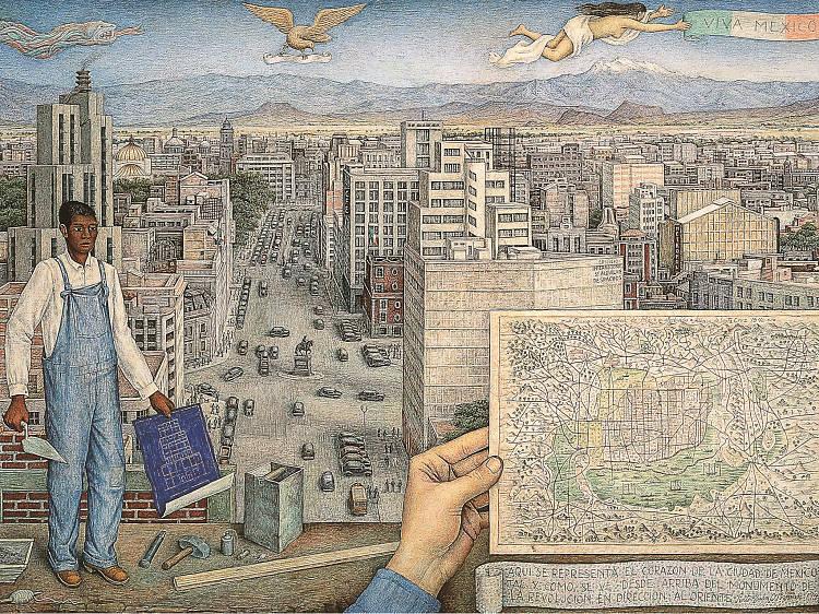 La Ciudad de México, de Juan O'Gorman