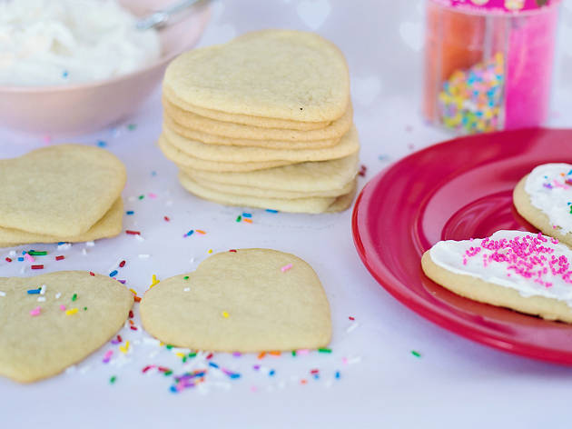 Hearts and Flowers Cookie Decorating Workshop
