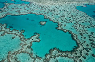 Heart Reef aerial view