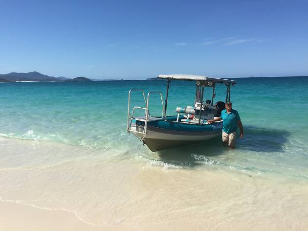 Owner John from Paradise Explorer Whitsundays