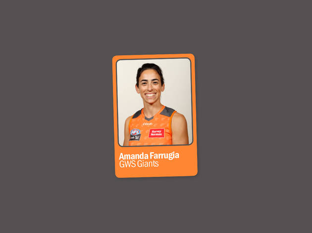 Amanda Farrugia: GWS Giants