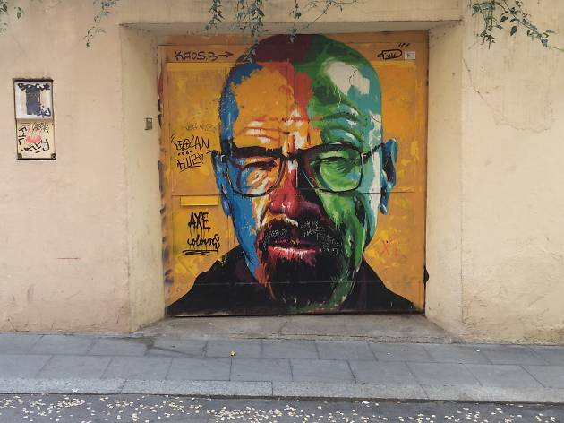 Walter White homage