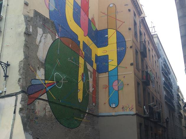 Tribute to Joan Miró