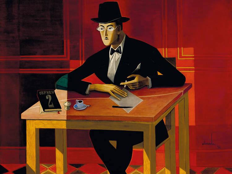 O 'Retrato de Fernando Pessoa' por Almada Negreiros
