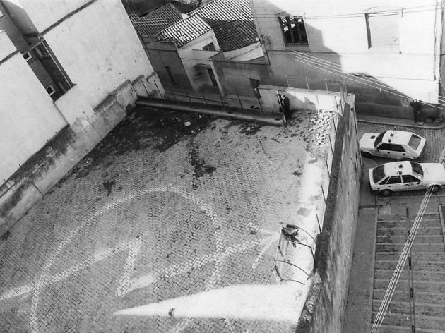 Casa ocupada del carrer Nou del Teatre, 1986