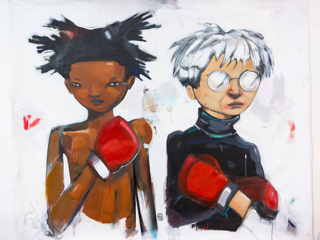 """Hebru Brantley: Eat Crap King"""
