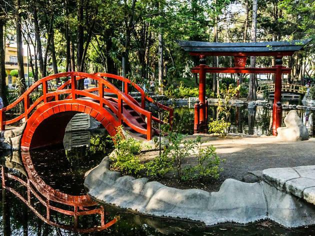 Parque Masayoshi Ohira en Coyoacán al estilo japonés