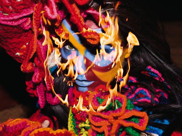 Björk en la era de su disco Volta