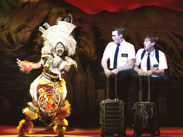 Five stars for The Book of Mormon