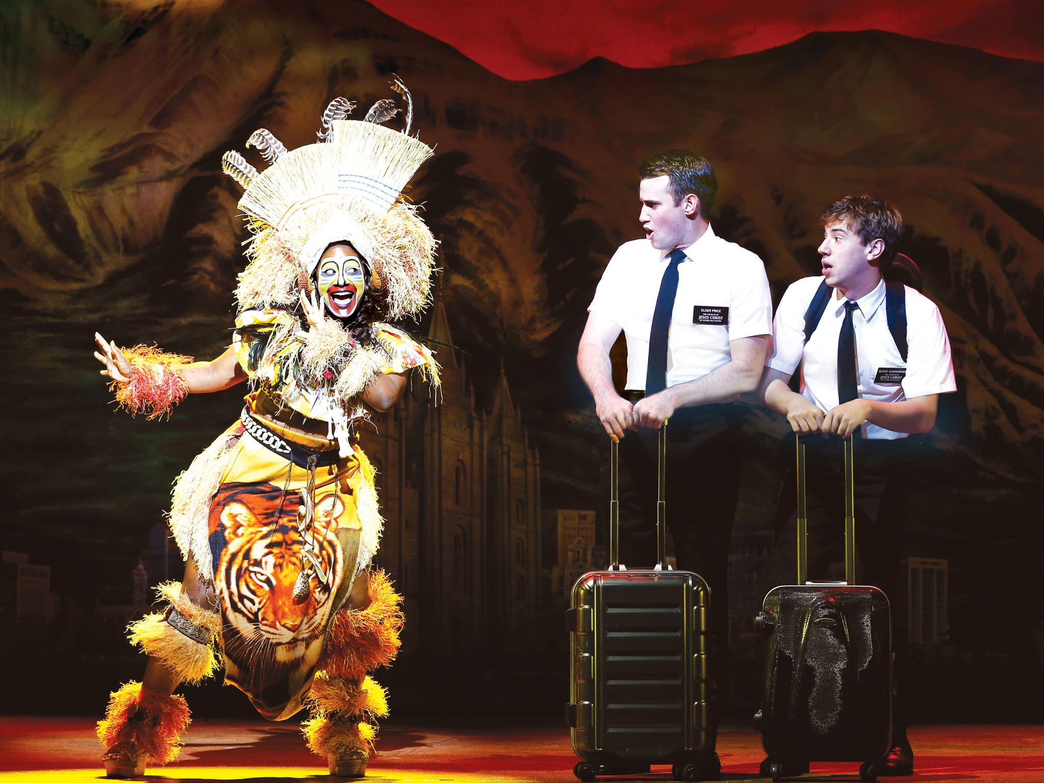 The Book of Mormon 2017 MEL 1 (Photograph: Jeff Busby)