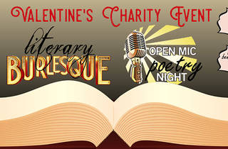 Literary Burlesque & Poetry Open Mic