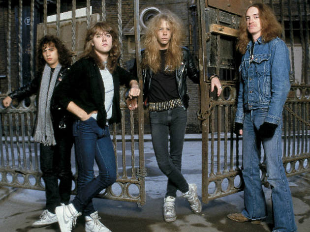 Metallica en la época de Master of Puppets