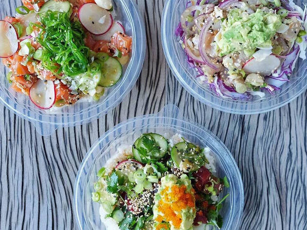 Fishbowl Bondi Poke bowl