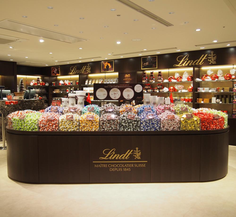 リンツ ショコラ ブティック 池袋パルコ店