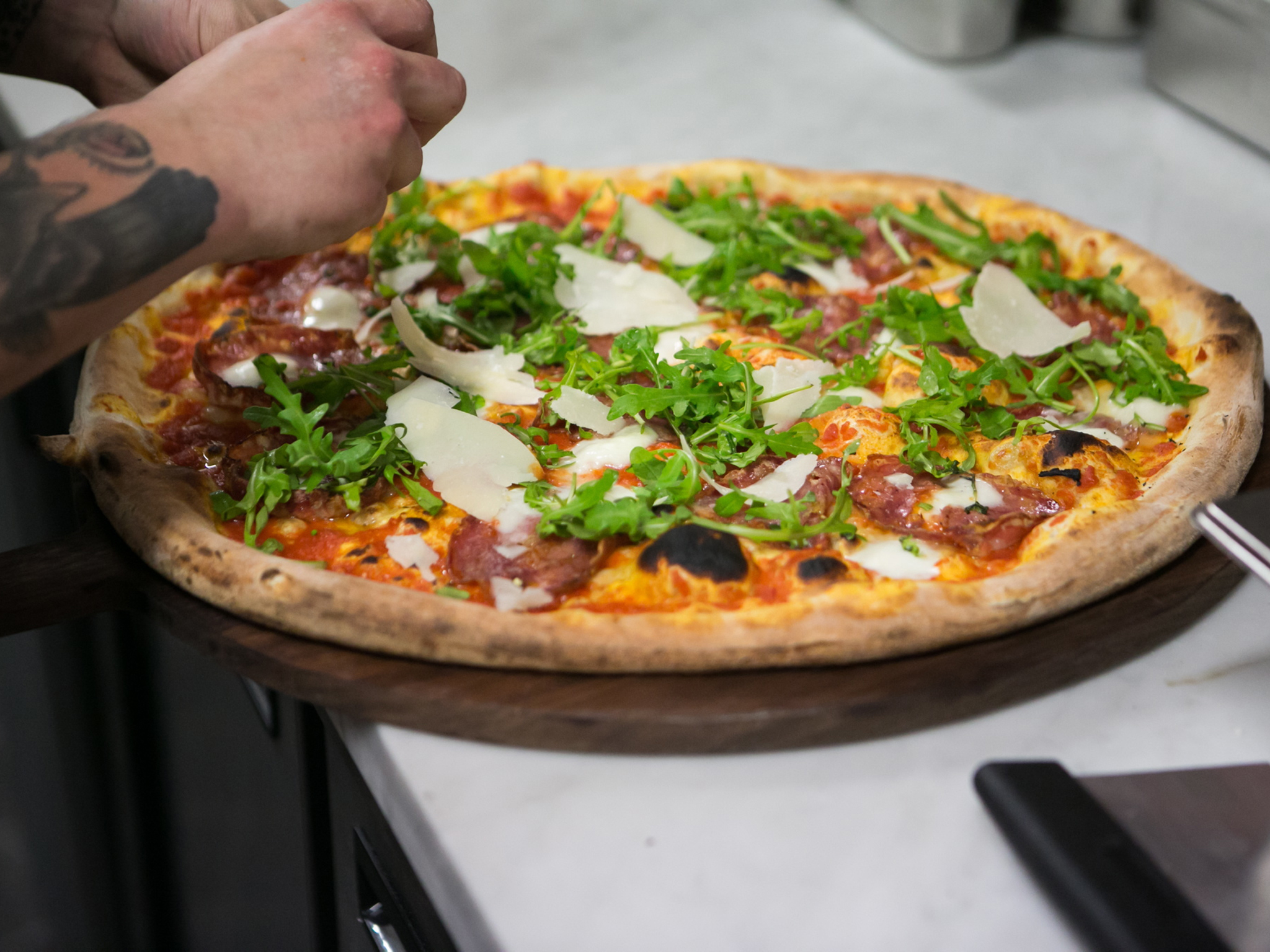 london's best pizza, homeslice
