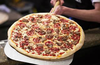 London's best pizza, joe public