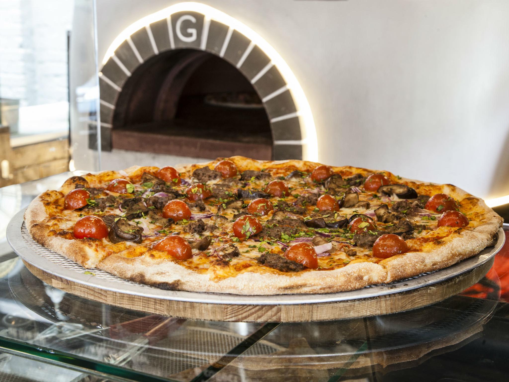 london's best pizza, pizza street