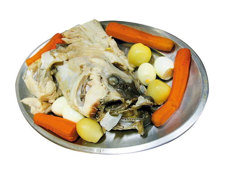 Os três melhores sítios para comer cabeça de peixe