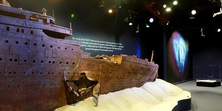 Titanic: The Artifact Exhibition at Luxor Las Vegas