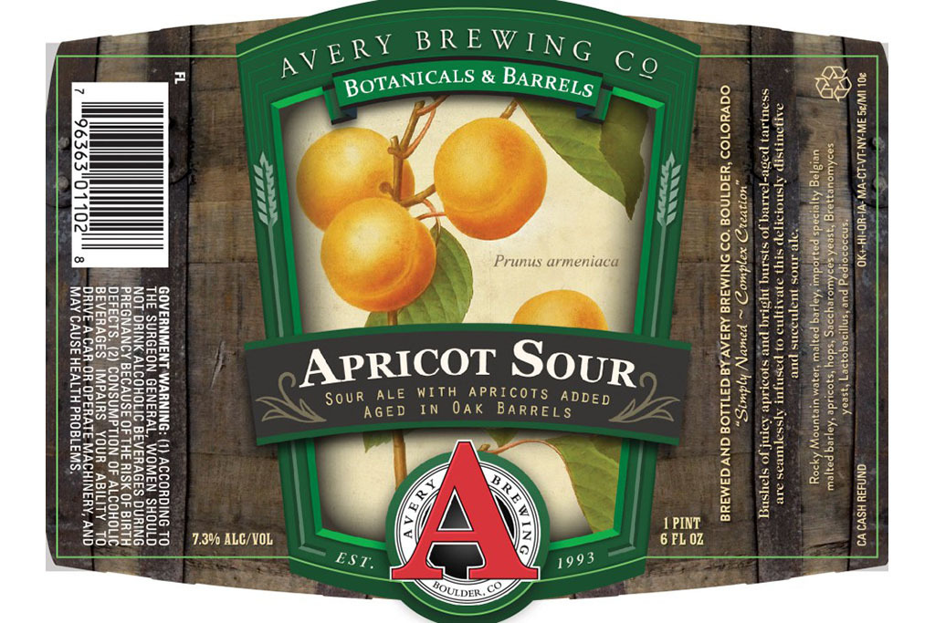 Apricut Sour, Avery Brewing Company
