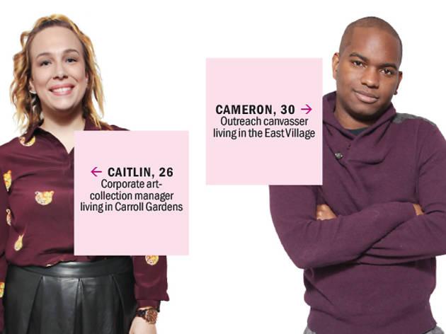 Caitlin and Cameron