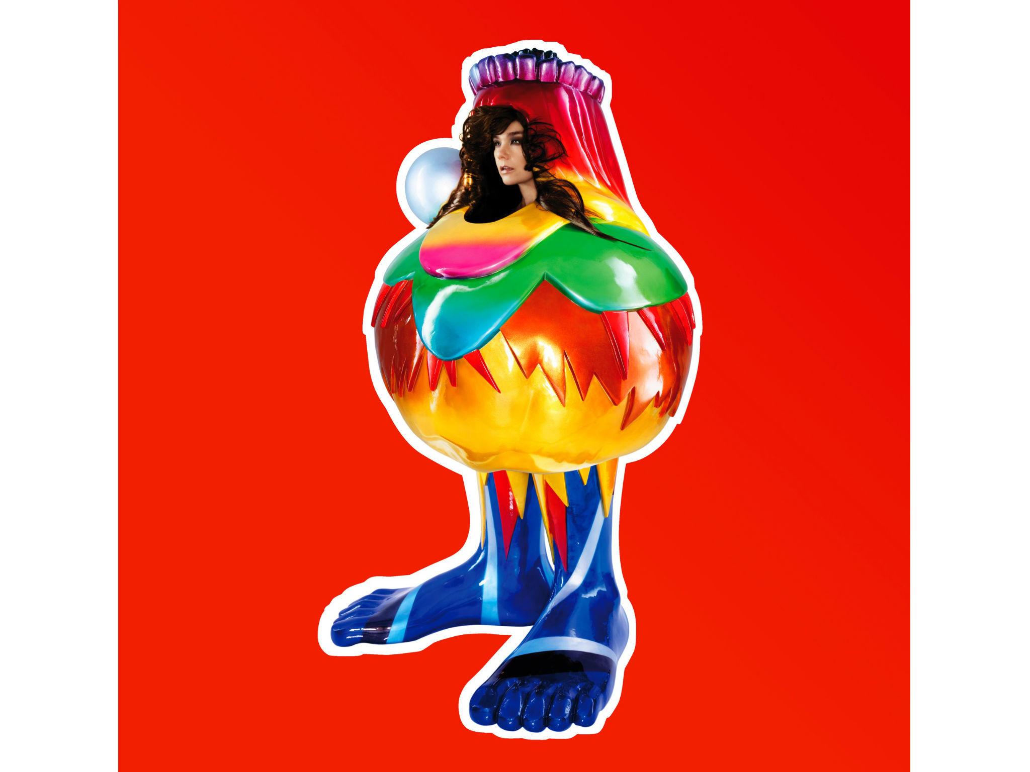 La portada del Volta de Björk
