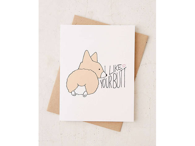 Tiffbits Corgi Love Card