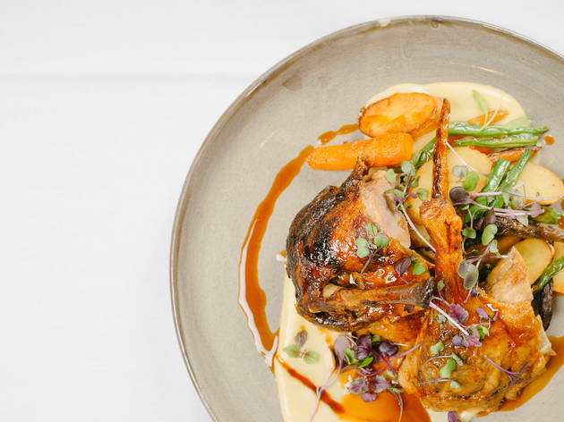 Savour Wayside Inn's rotisserie dish for lunch and dinner