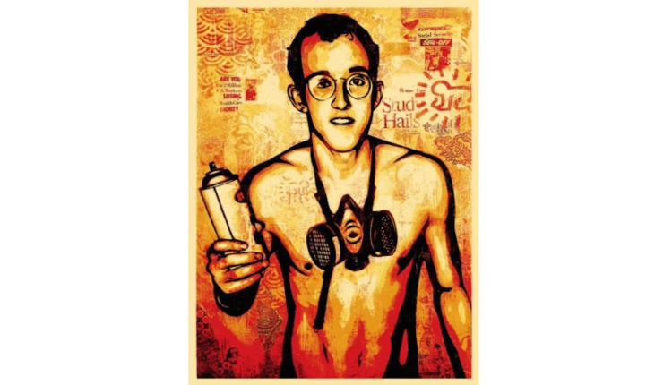 グラフティアート展「LA Graffiti Art Legend  Shepard Fairey」