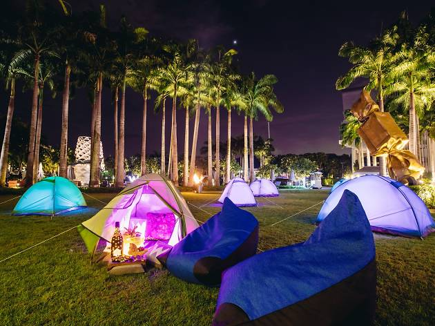 W Singapore I Lawn for You tent exterior