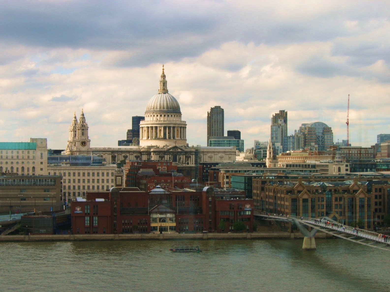 View from Switch House, Tate Modern