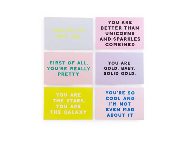 bando compliment cards
